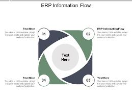 Erp Information Flow Ppt Powerpoint Presentation Outline