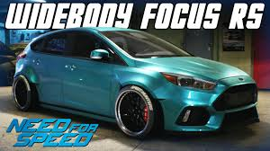 2015 ford focus rs. need for speed 2015 widebody ford focus rs car customization youtube ford focus rs