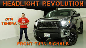 2014 2017 Toyota Tundra Front Turn Signals Tundra Video Series Headlight Revolution