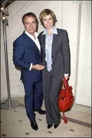 Fabien Lecoeuvre et Anne Richard à Paris, le 8 novembre 2010. - Purepeople