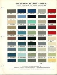 Auto Paint Colors Online Charts Collection