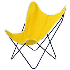 outdoor sling chairs. Steele Butterfly Sling Chair (Yellow) Outdoor Chairs