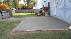 Concrete Slab Patio Ideas Beautiful Small Concrete Patio Designs