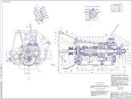 Курсовые проекты по автомобильному транспорту и автомобильному  Конструирование и расчет трехвальной коробки передач