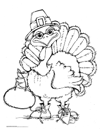 Thanksgiving Turkey Turkey Coloring Pagesthanksgiving