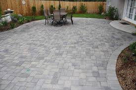 paver patio ideas in small backyard