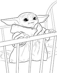 Our free coloring pages for adults and kids, range from star wars to mickey mouse. 10 Best Free Printable Baby Yoda Coloring Pages For Kids