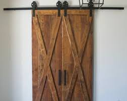rustic barn door from real antique barn wood