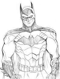 Batman Sketch By Lucianovecchio On Deviantart