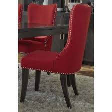 extraordinary idea red upholstered dining chairs 12