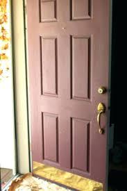 painting a metal door to look like wood painting paint metal garage door look like wood