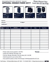 Skaneateles Schools Spirit Wear Order Form | Skaneateles School District