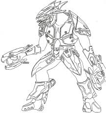 Halo Coloring Pages Free Only Coloring
