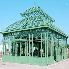 large greenhouse garden decor outdoor wrought iron gazebo designs for iok 87