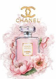 coco chanel perfume wall art plaque