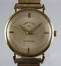 lord elgin watch vintage lord elgin 25 jewels automatic 33mm men s wrist watch lot 0412