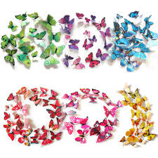 3d Butterfly Wall Decor Compare Prices On Wall Decor Butterflies Online Shopping Buy Low