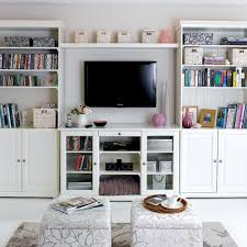 Simple Living Room Stoage Ideas
