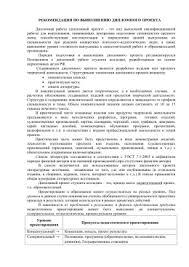Методичка по дипломному проектированию Сервис Рекомендации по выполнению дипломного проекта