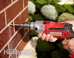 drill bit guide for a handheld drill. drilling into concrete tools: rotary hammers and hammer drills drill bit guide for a handheld u