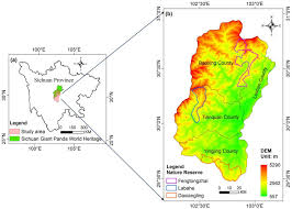Giant Panda Population Chart A The Location Of Yaan Prefecture In Sichuan Province The