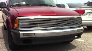 Chevrolet pick up truck s10 design custom front grill - YouTube