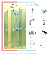 shower glass hardware sliding shower door parts sliding door designs sliding shower door hardware designs sliding