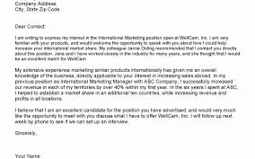 Cover Letter Without Address Unique Addressing Contact Information