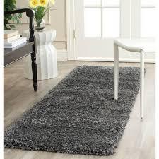 14 foot runner rug safavieh california dark gray 2 ft 3 in x 14 ft