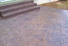 stamped concrete patio with stairs. Wonderful Patio Stamped Concrete Stairs On Patio With H