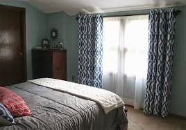 one diy project from our master bedroom makeover was to make new curtains for our oversize window i guess you could say i m pretty picky when it comes to