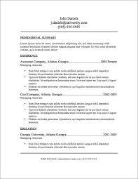 12 More Free Resume Templates Primer Resume Formats Free