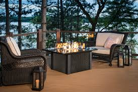 Napa Valley Propane Fire Pit Table By Outdoor GreatRoom Company Outdoor Great Room