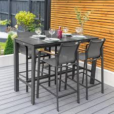harrier outdoor bar stools table set