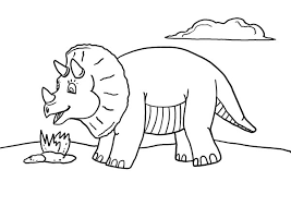 Small Picture Free Printable Dinosaur Coloring Page What Mommy Does