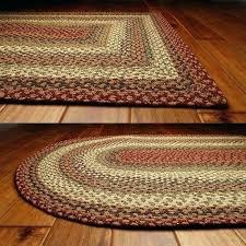 braided rug wool primitive