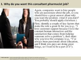 Pharmacist Consultant Top 10 Consultant Pharmacist Interview Questions And Answers
