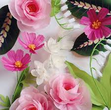 Design Sponge Paper Flowers 26 Paper Flower Artists To Follow On Instagram Design Sponge