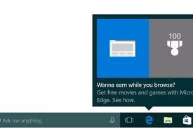 here we go again microsoft s popping up ads from the windows 10 taskbar pcworld