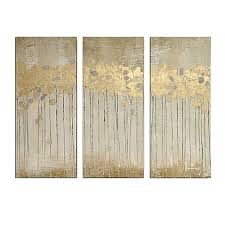 pleasant office wall decor. image of madison park sandy forest gel coat canvas with gold foil embellishment wall art in pleasant office decor e