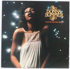 donna summer love to love you baby vinyl record lp used