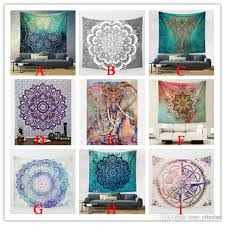 hippy mandala tapestry bohemian elephant tapestry wall hanging psychedelic wall art dorm decor beach throw indian wall tapestries tapestry uk tapestry