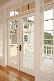 exterior back door with window that opens. exterior french door replacement for back sliding with bronze hardware window that opens