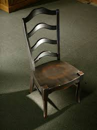 french ladder back dining room chairs