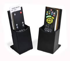 tv holder. pu leather remote control box, tv holder (pb164) tv i