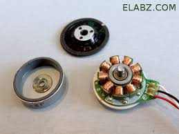 driving a three phase brushless dc motor arduino part theory a disassembled cd dvd brushless dc spindle motor
