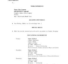 Resume Address Format Download Resume Address Format Resume Address