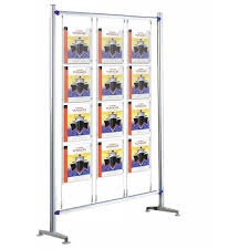 Multiple Poster Display Stands Poster Display Stands Discount Displays 12