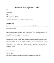 Resume Example Sample Cover Letter For New Graduate Nurse Resume