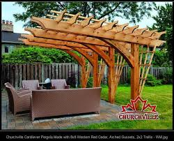 pergola designs on decks